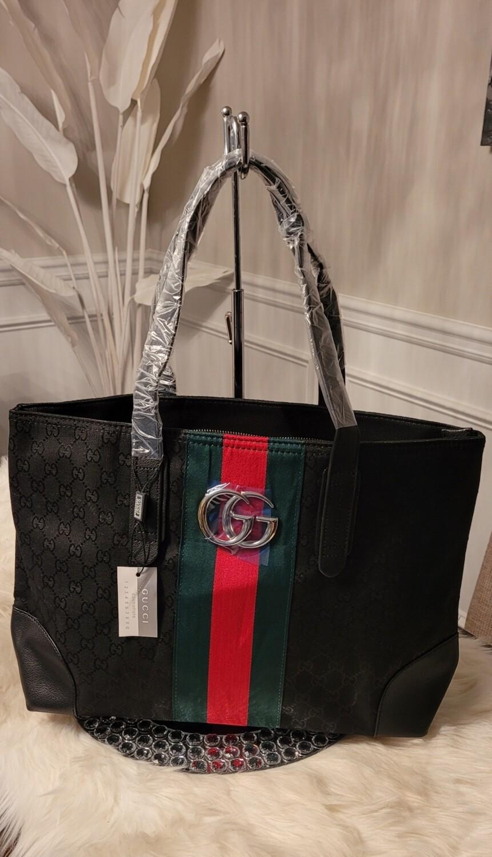 Gucci Black Shopper's Tote