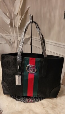Gucci Black Shopper's Tote
