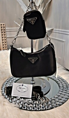 Prada Mini 2n1 Crossbody Set