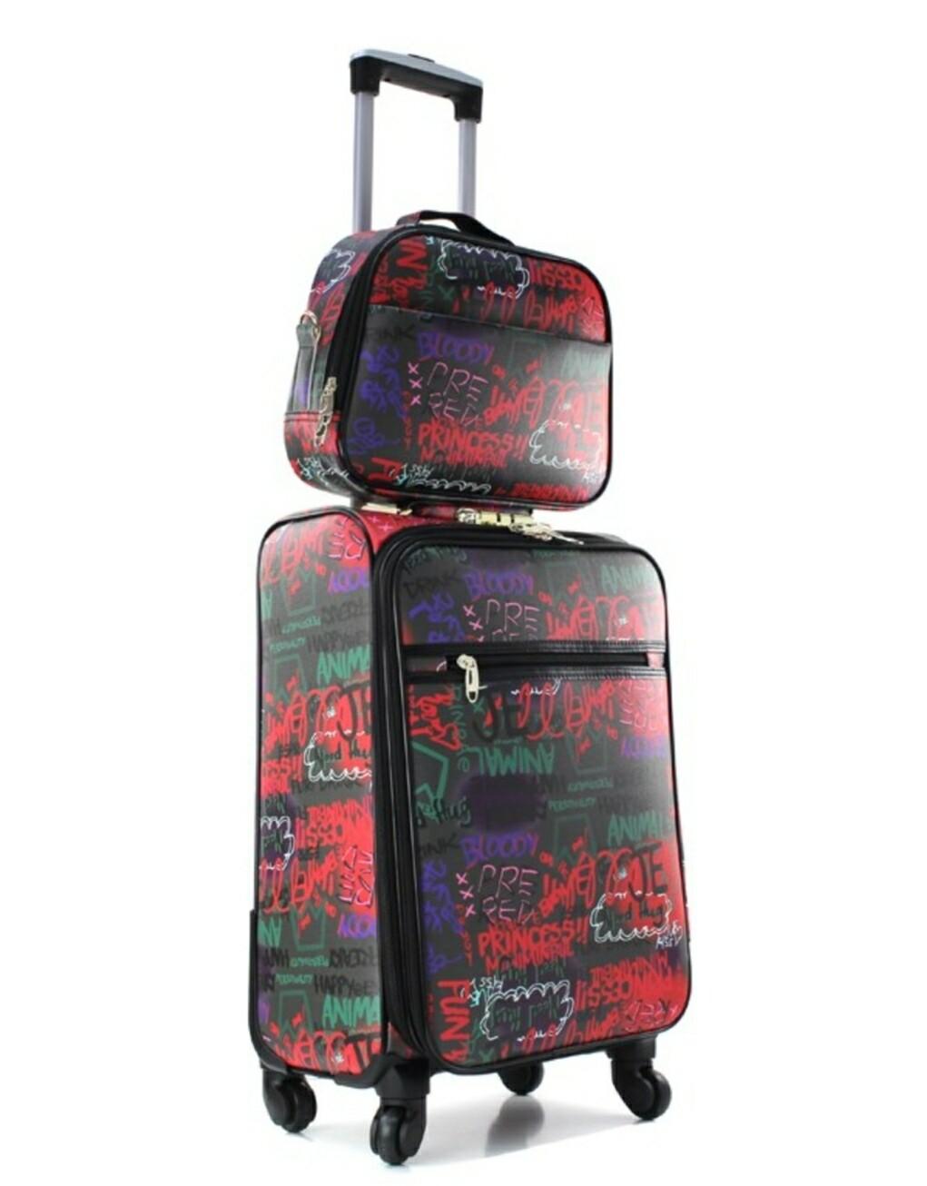 Graffiti 2 pc Luggage Set