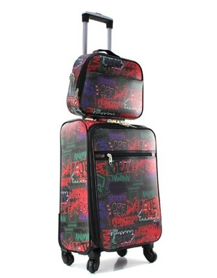 Graffiti 2 pc Luggage Set