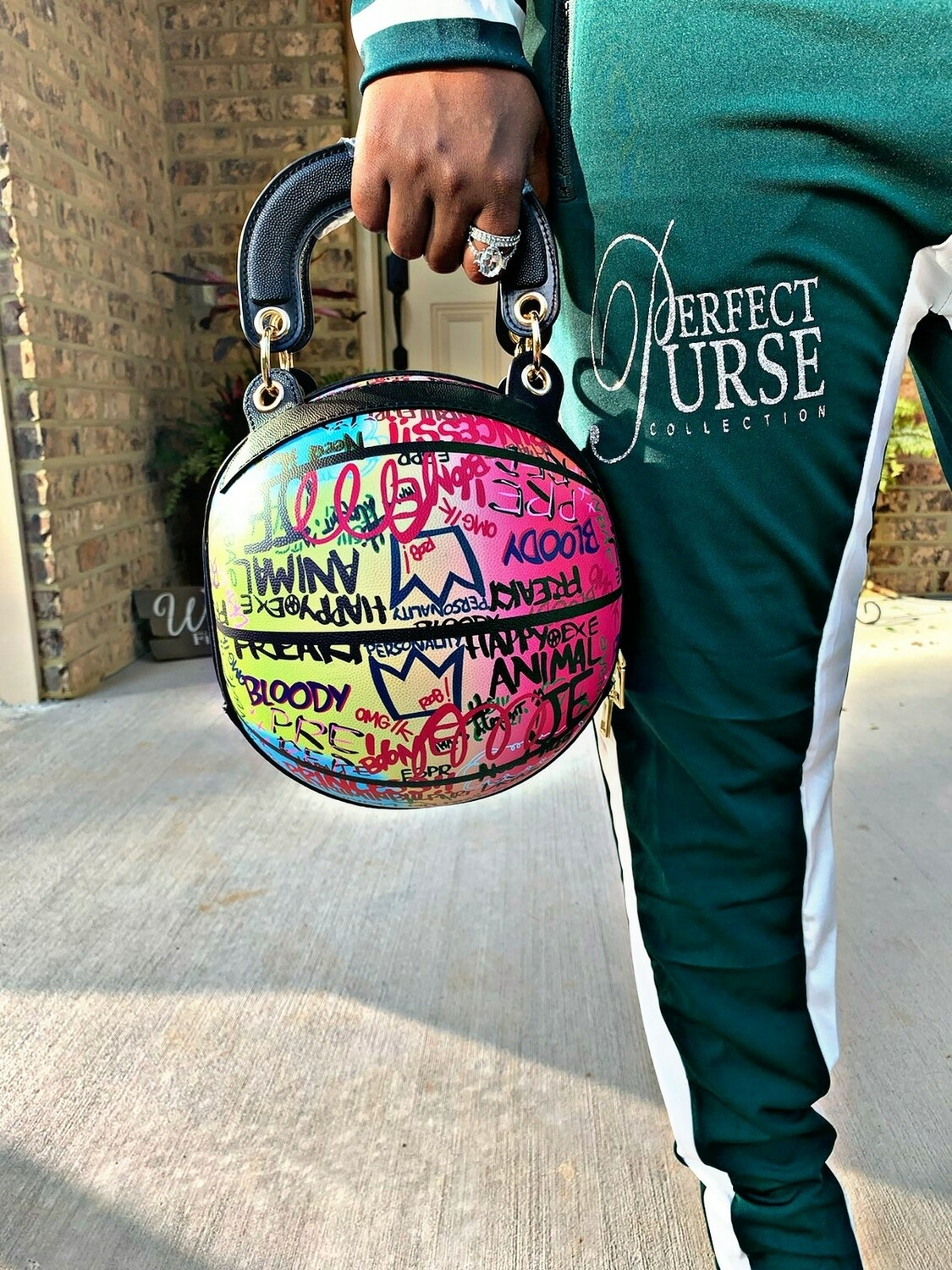 Graffiti Ball Tote