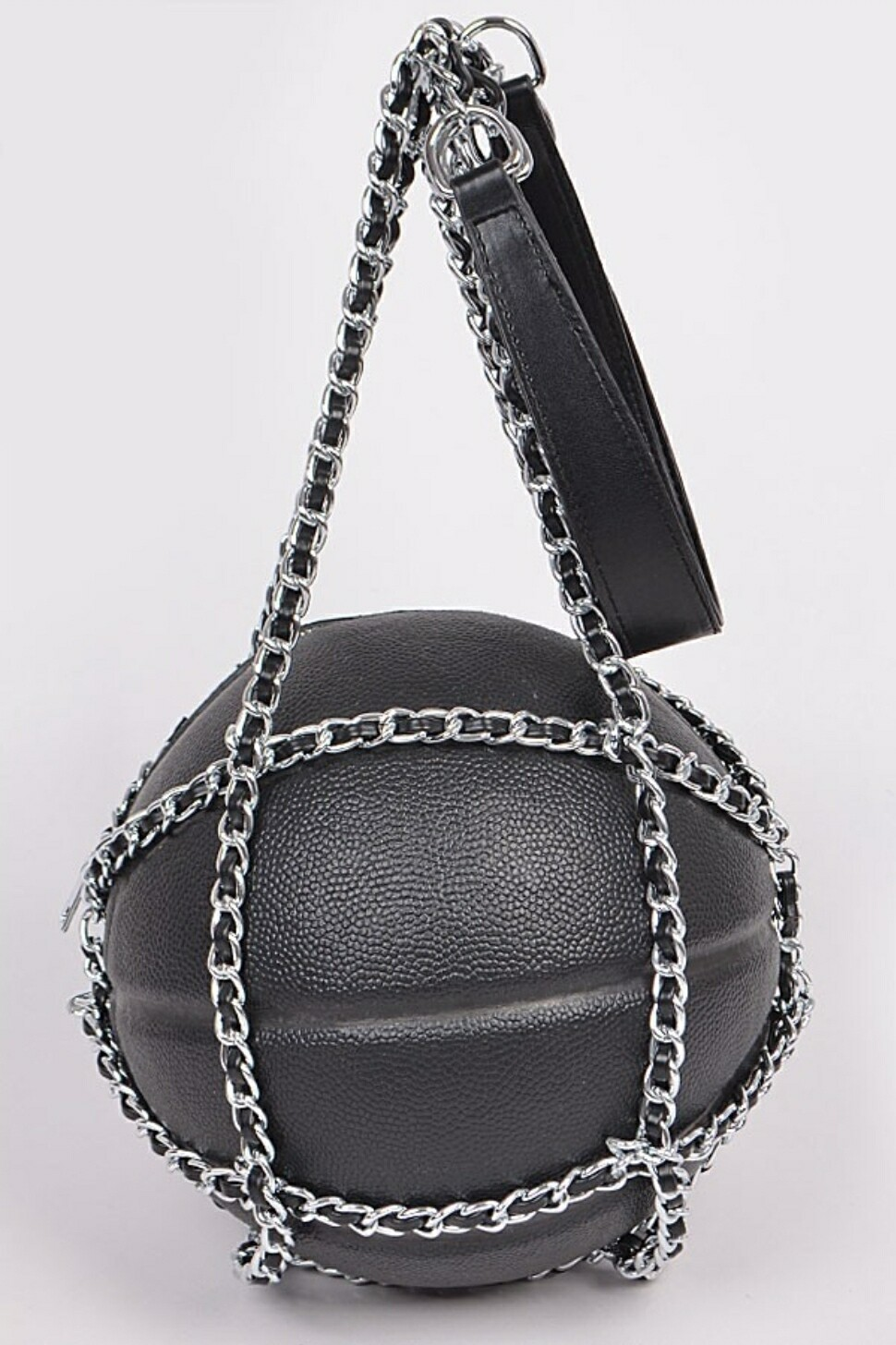 Black Basketball Shoulder Bag *Exclusive*