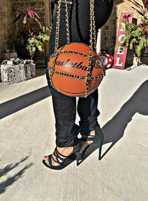 Real Basketball Shoulder Bag