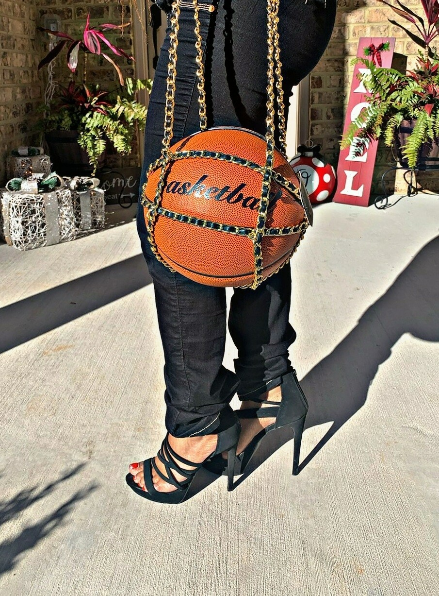 Real Basketball Shoulder Bag