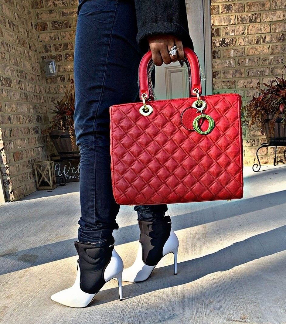 Quilted Red 2 pc