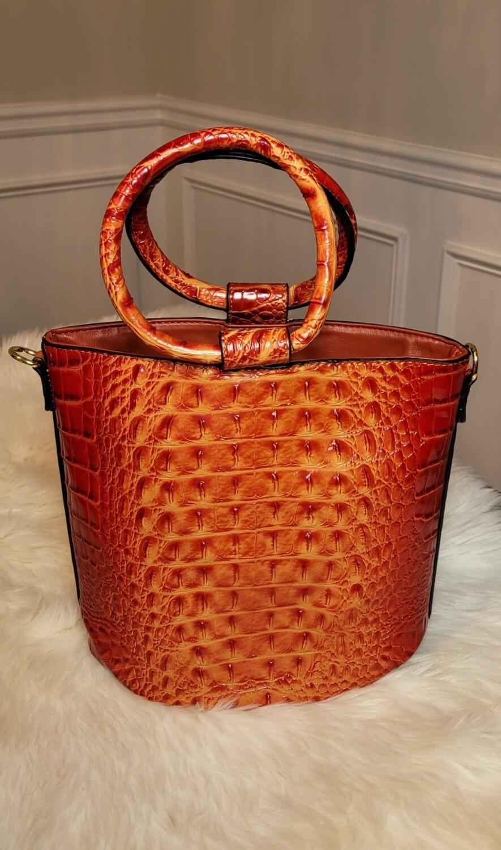 Ring Handle Bucket- Orange