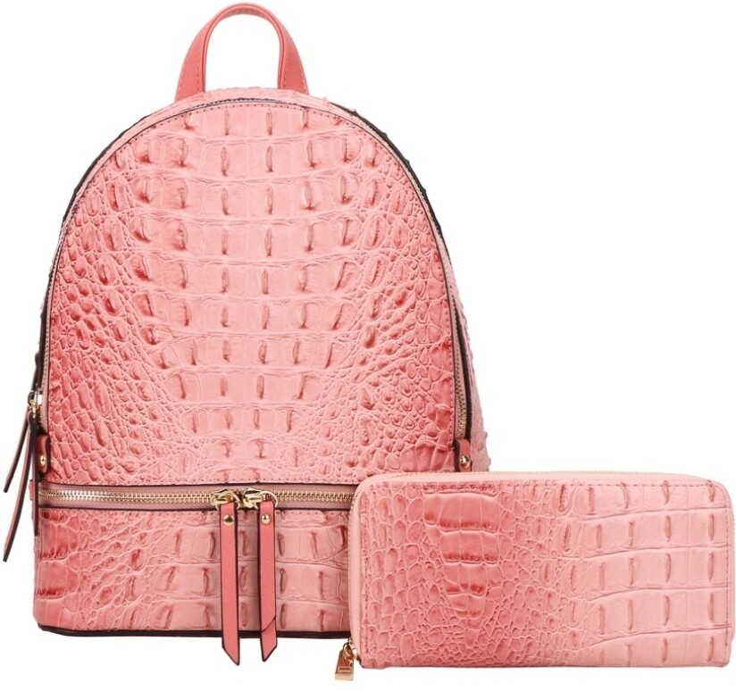 Pink 2 pc Backpack