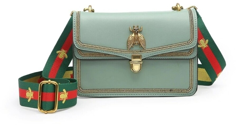 Mint Bee Crossbody