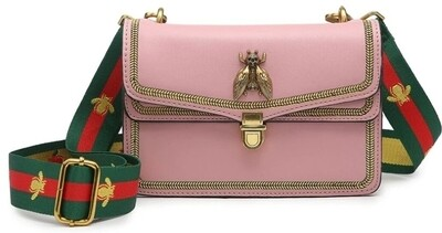 Pink Bee Crossbody
