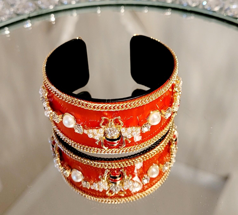 Red Bee Bracelet