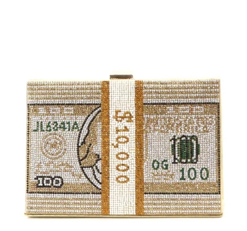 Money Clutch Gold