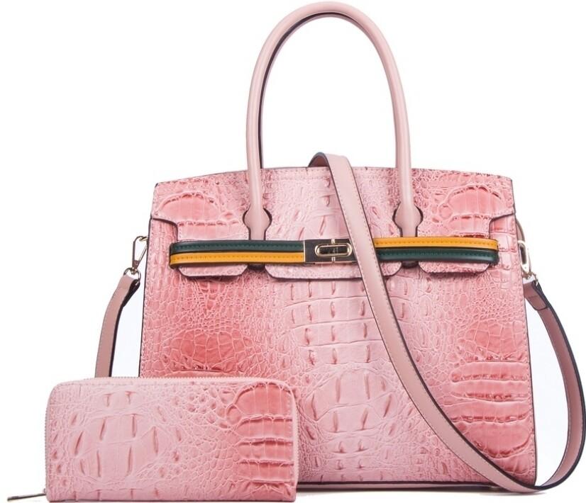 Pink Croc 2 pc
