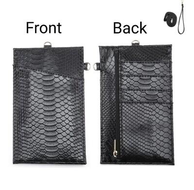 Black Phone Wallet *Free Shipping*