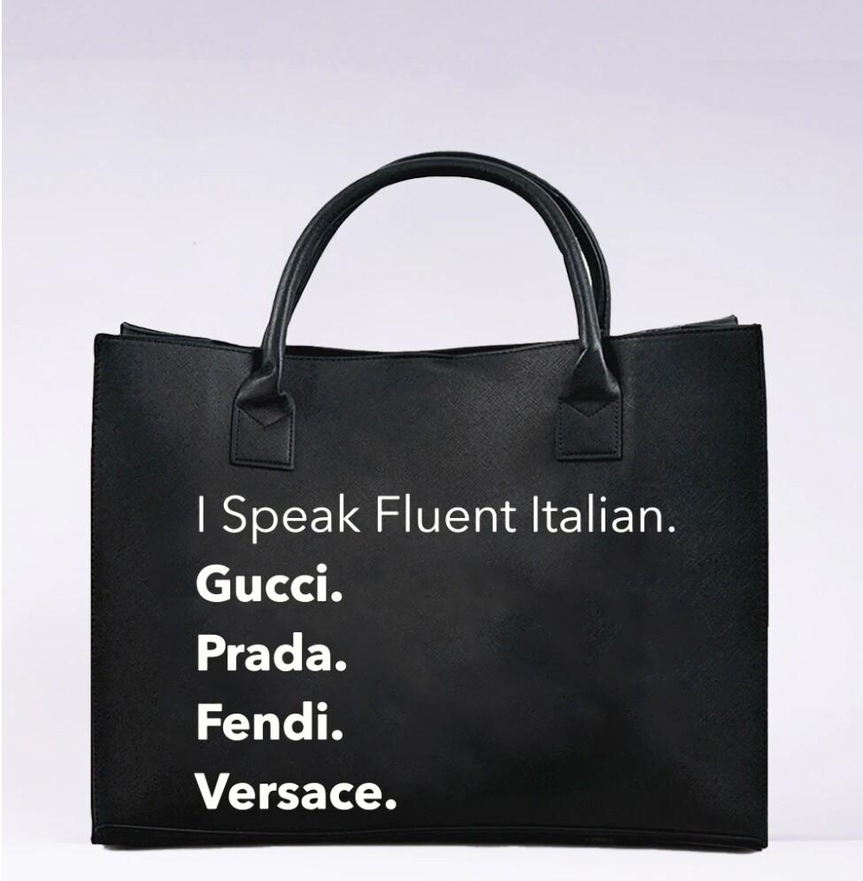 Fluent Italian Tote