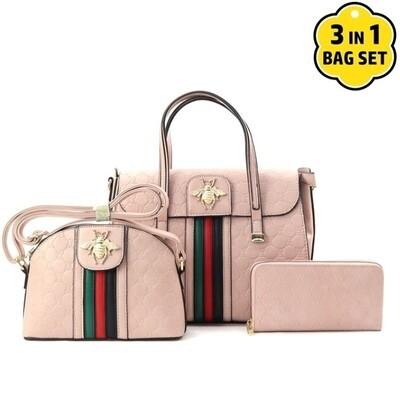 Pink Bee 3 pc Set