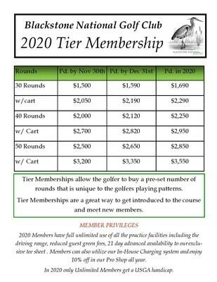 40 Round Membership 1105
