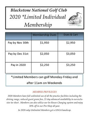 Limited Loyalty Membership with Cart 1111