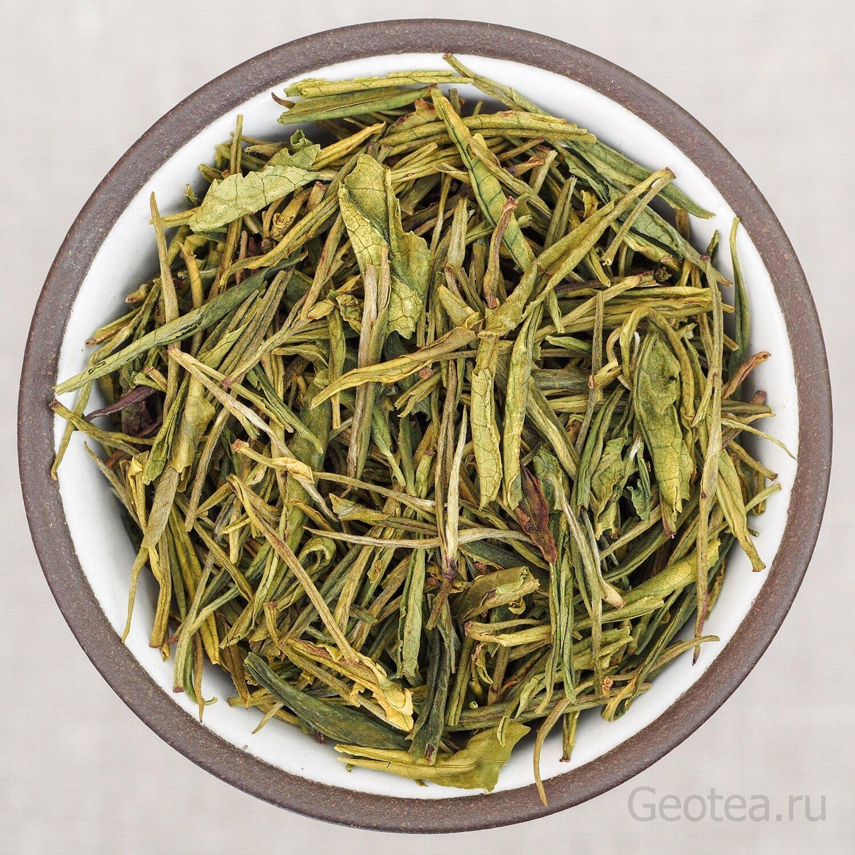 "Чай Зеленый Ань Цзи Бай Ча ""Зеленый чай из уезда Аньцзи"" #600"