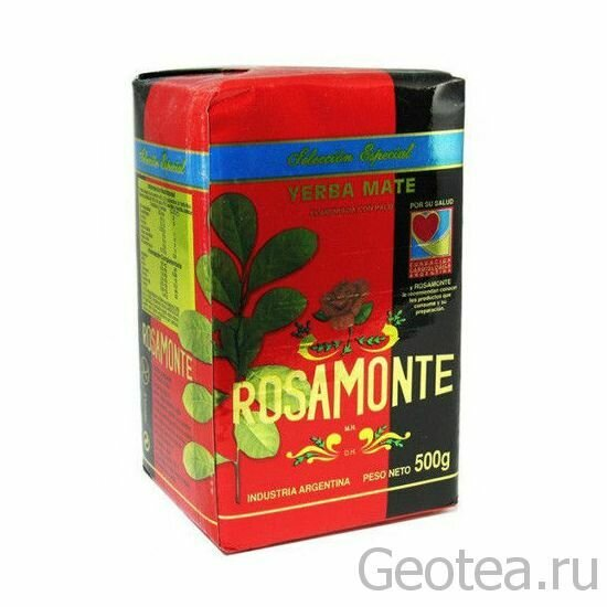 Йерба Мате Rosamonte Seleccion Especial 500гр.