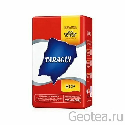 Taragui Bajo Contenido de Polvo 500 гр