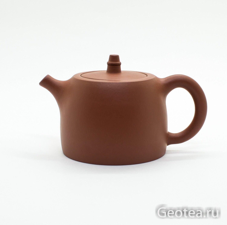 """Чайник глина """"Красный песок"""" 200мл."""