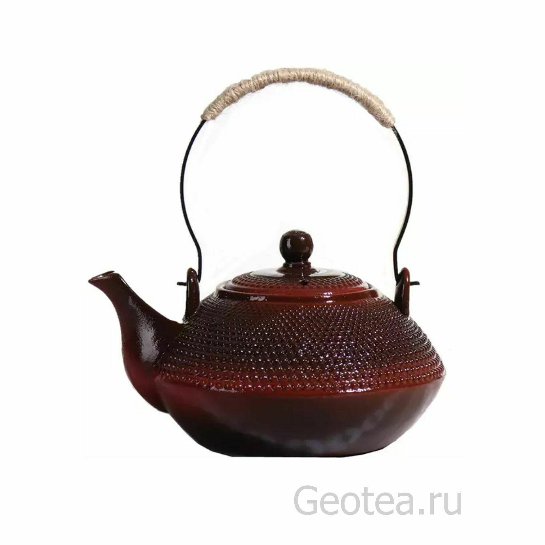 """Чайник """"Красная глина"""" 900 мл."""