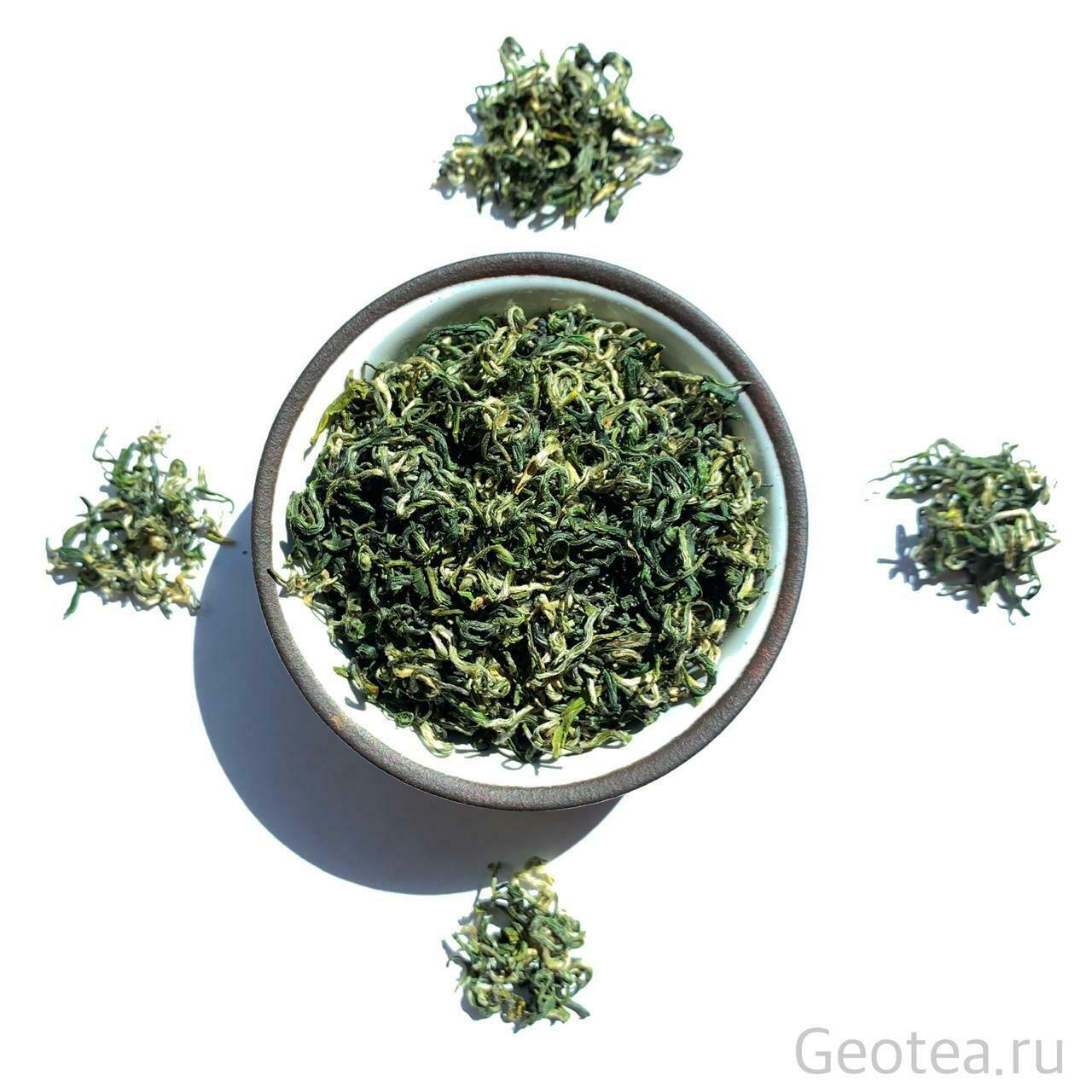 """Чай Зеленый Дун Тин Би Ло Чунь #250, """"Изумрудные спирали весны"""""""