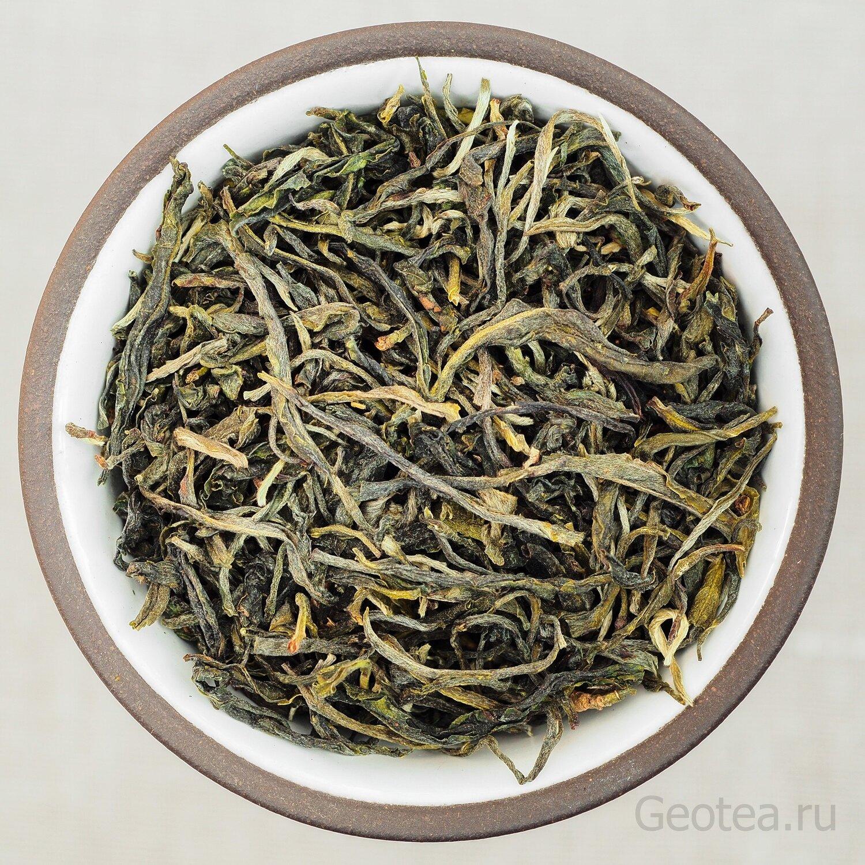 """Чай Зеленый Хуан Шань Мао Фэн #240 """"Ворсистые пики с Желтых гор"""""""