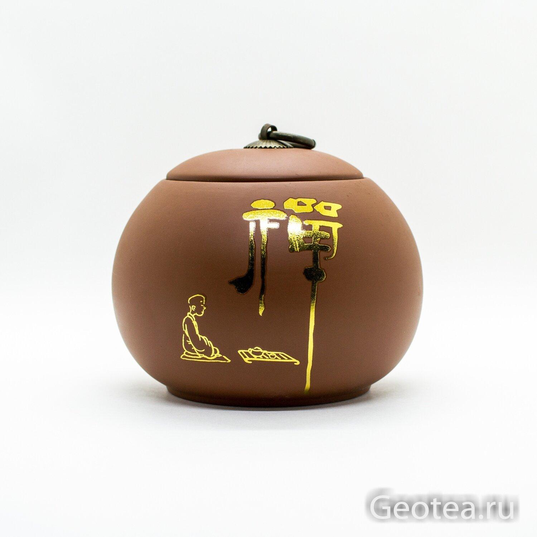 """Чайница """"Монах пьет чай"""""""