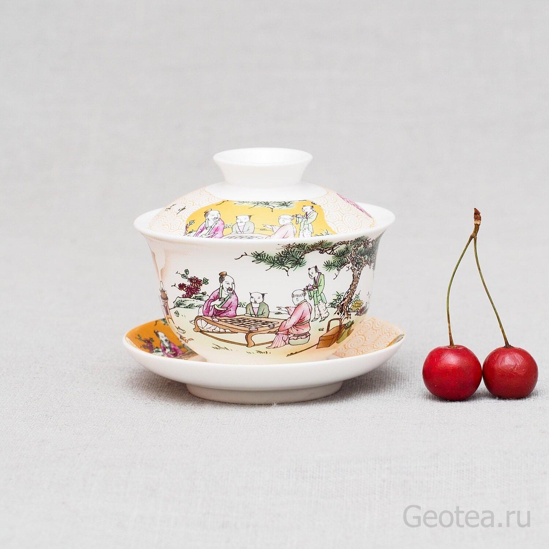 """Гайвань """"Чайная церемония"""" 110мл."""