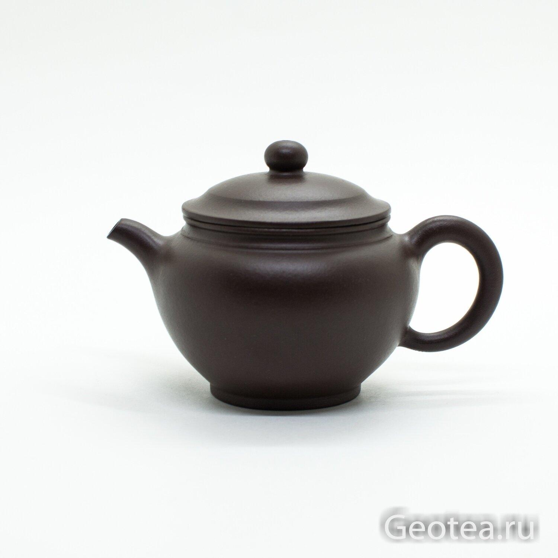 """Чайник глина """"Бочонок"""" 200мл."""
