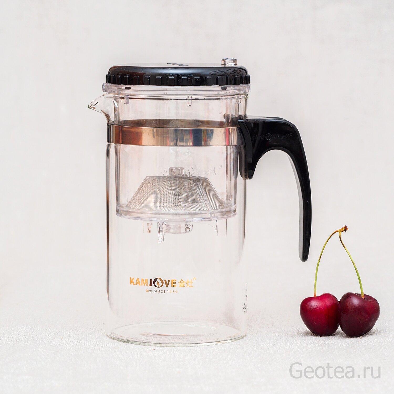 Чайник с дозатором Kamjove Easy Pot 500мл.