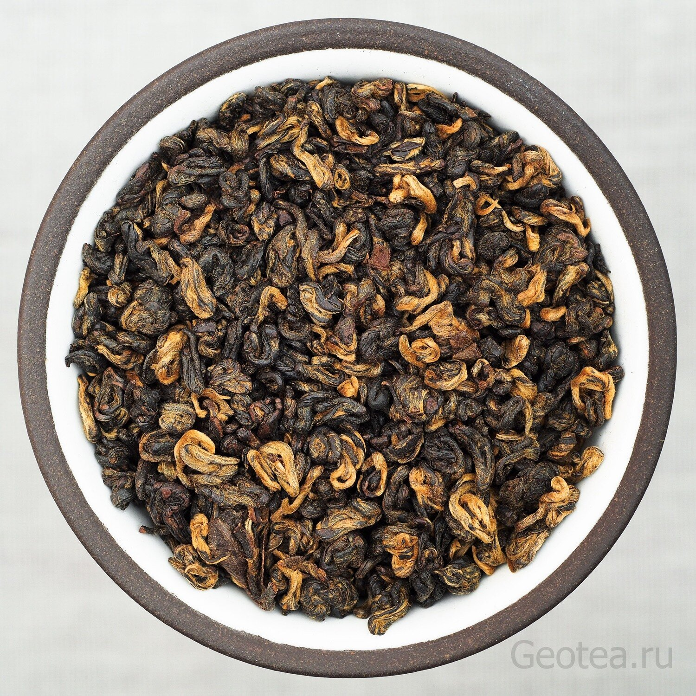 """Чай Красный Хун Би Ло """"Красные спирали из Юньнани"""""""
