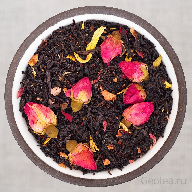 """Чай Черный """"Королевская роза"""""""