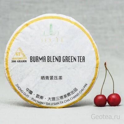 """УЦЕНКА"" Чай Шэн Пуэр ""Burma Blend"" 200гр."
