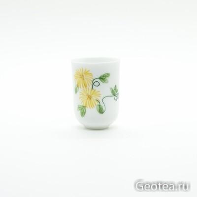 "Пиала для аромата чая ""Хризантема"""