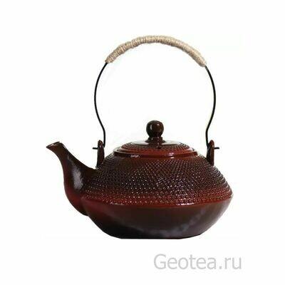 """Чайник """"Красная глина"""" 900мл."""