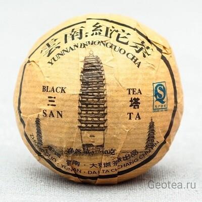 Чай Красный Дянь Хун То Ча 100 гр., прессованный