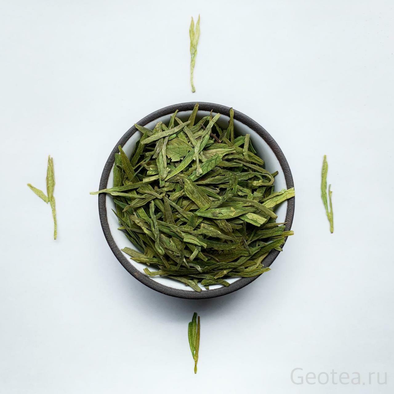 """Чай Зеленый Лун Цзин #300 """"Колодец дракона"""""""