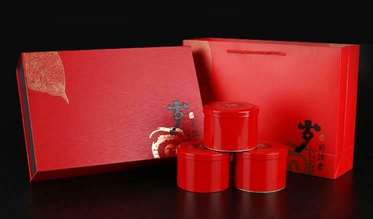 """Подарочный набор """"Золотые годы RED"""", 3 банки"""