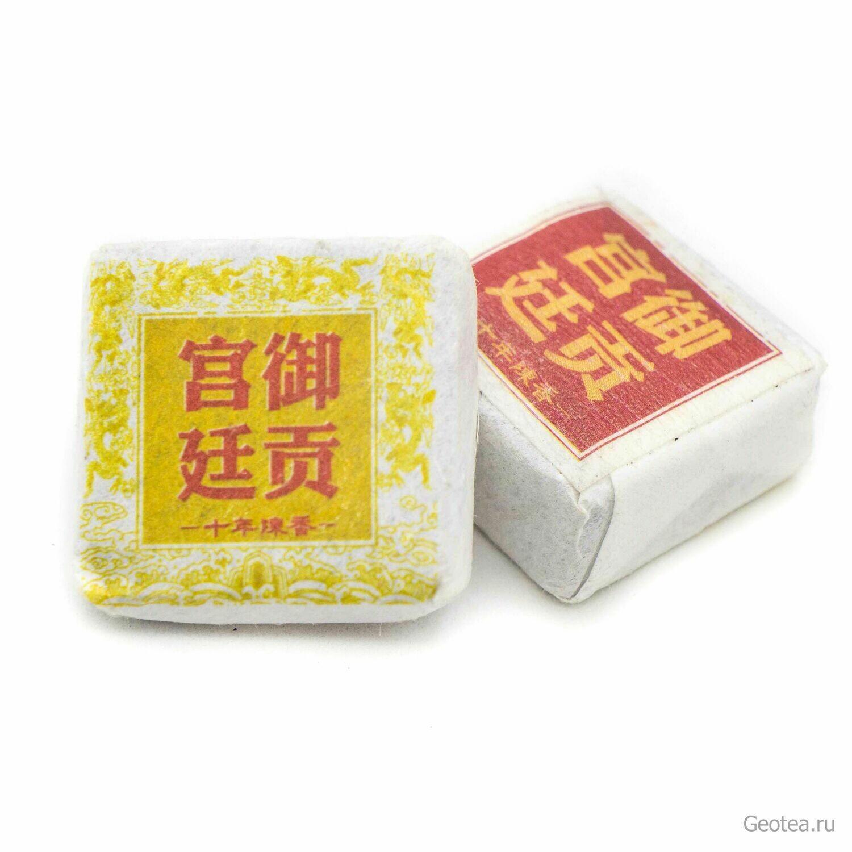 """Чай Шу Пуэр """"Дворцовый кубик"""" Сяо То"""
