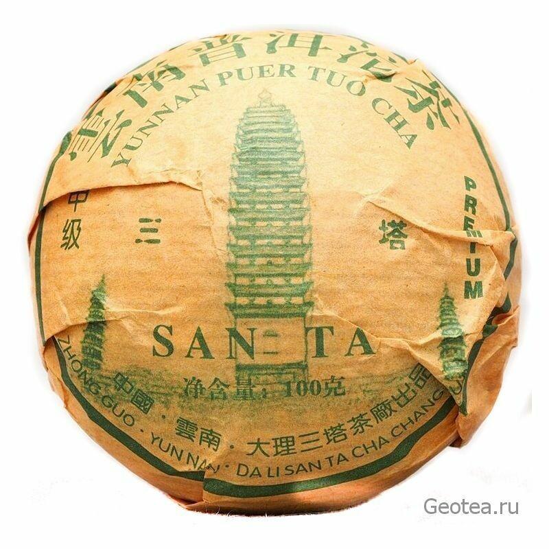 Чай Шэн Пуэр Премиум То Ча 100гр.