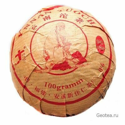 "Чай Шу Пуэр ""Синьцзяжэнь"" То Ча 100гр."