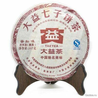 """Чай Шу Пуэр """"Пучживэй"""" Да И, Ци Цзы Бин, 2012г., 357гр."""