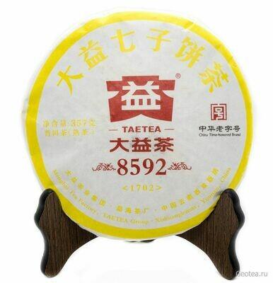 """Чай Шу Пуэр Да И """"8592"""" 357гр."""