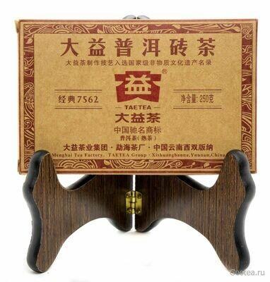 """Чай Шу Пуэр Да И """"7562"""" 2013г., Ча Чжуань 250гр."""