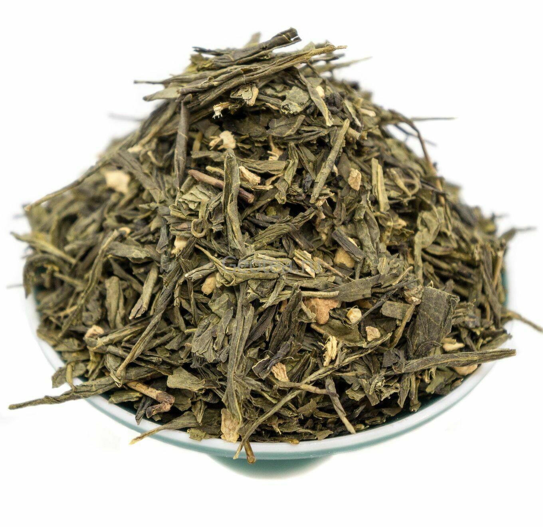 Чай Зеленый Имбирный