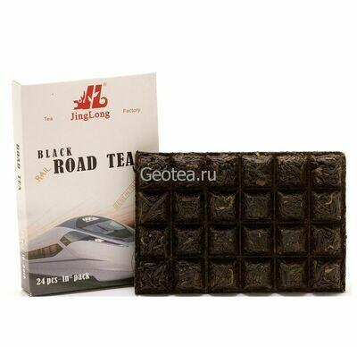 Чай Красный Дянь Хун Road Tea 100гр., прессованный