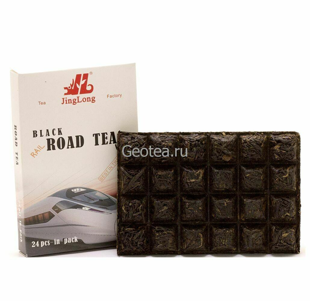Чай Красный Минь Хун Road Tea 100гр., прессованный